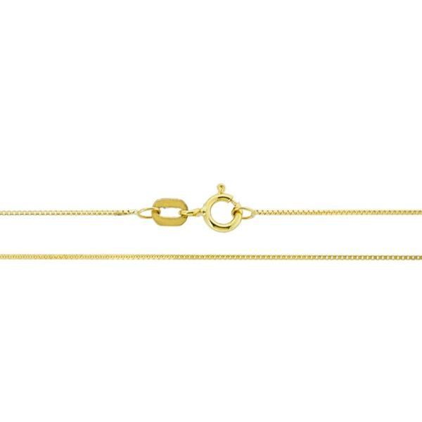 Corrente Veneziana com 50cm de Ouro 18K