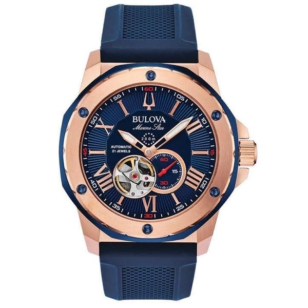 Relógio Bulova Masculino Marine Star Automático