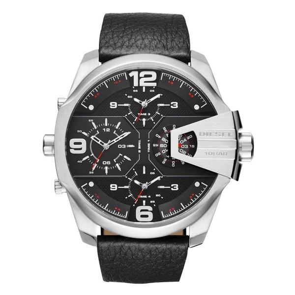 Relógio Diesel Masculino Couro Cronógrafo