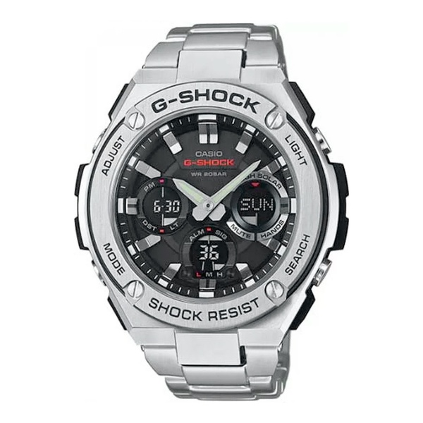 Relogio G-Shock Masculino AnaDigi G-Steel