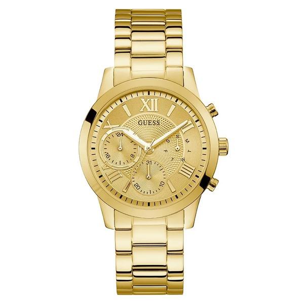 Relógio Guess Feminino Dourado Multifunção