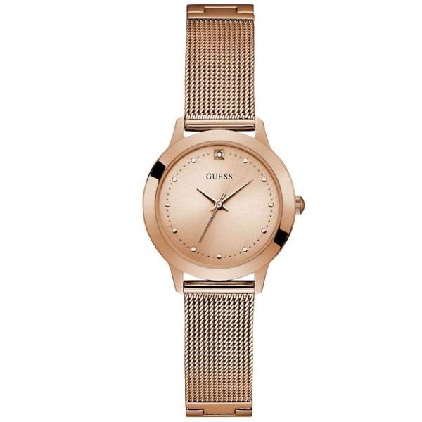 Relógio Guess Feminino Rosé Esteira