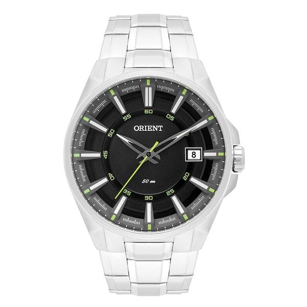 Relógio Orient Masculino Preto com Verde