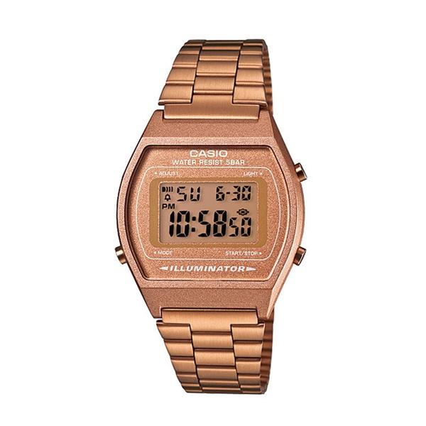 Relógio Digital Casio Vintage cor Rosê