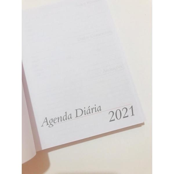 KIT DE AGENDA PARA AGENDA COSTURADA 2021 Formato 14 x 19,5 - 10 KITS
