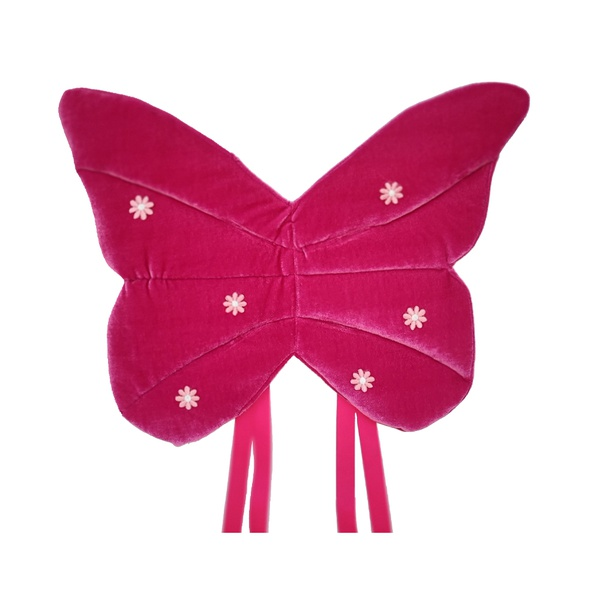 Fantasia asa borboletas Vermelho