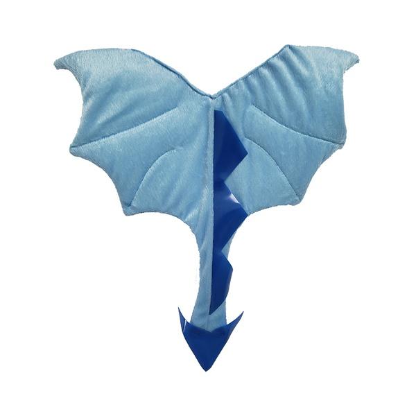 fantasia asa dragão baby azul claro