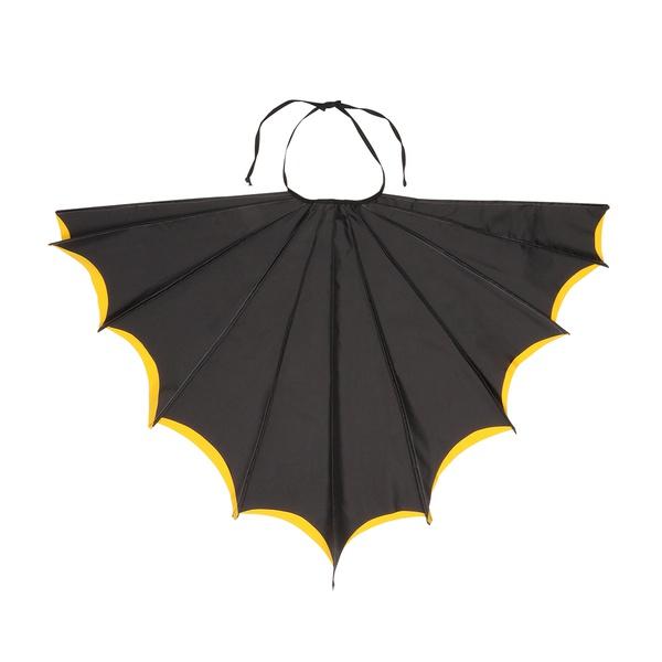 Fantasia Asa Morcego Preto e Amarela