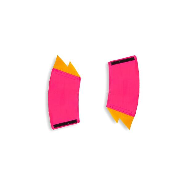 Bracelete raio pink e amarelo