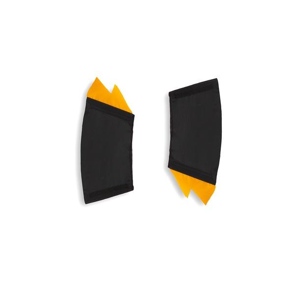 Bracelete raio preto e amarelo