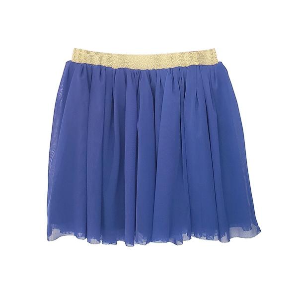 Vestuário infantil Saia tule Azul Royal