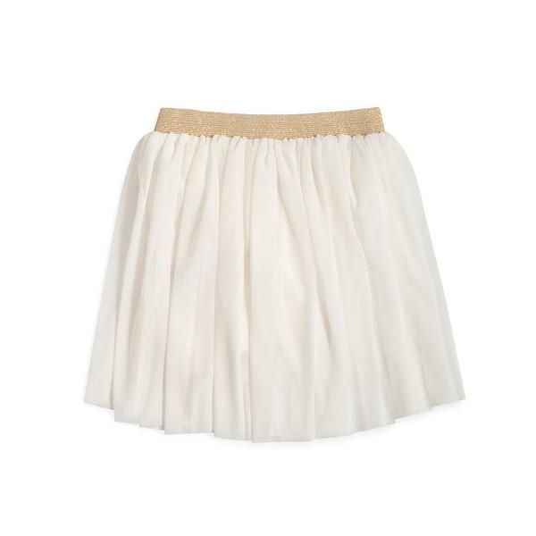 Vestuário infantil Saia tule Off white