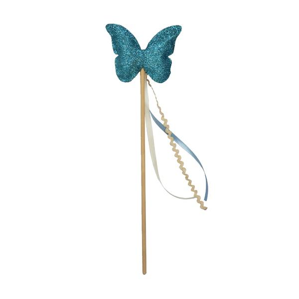 Fantasia Varinha borboleta azul