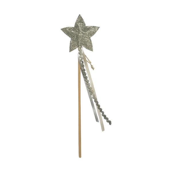 Varinha estrela prata