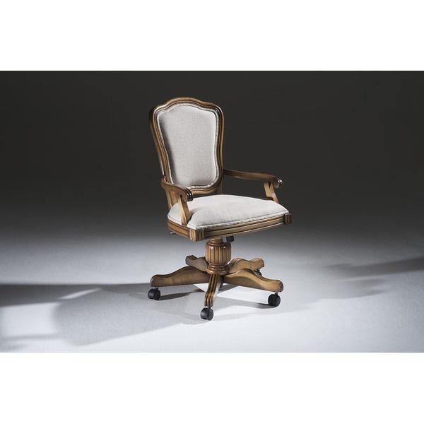 Cadeira Hillux Para Escritório Giratória Em Madeira Maciça