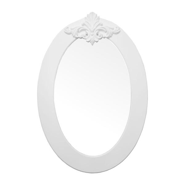 Espelho Oval Lavanda Vertical
