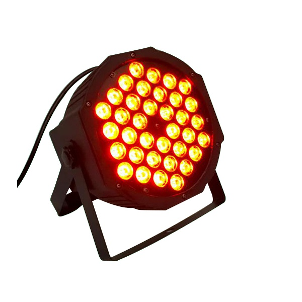Refletor Canhão de Led Slim RGB 36x1 3in1