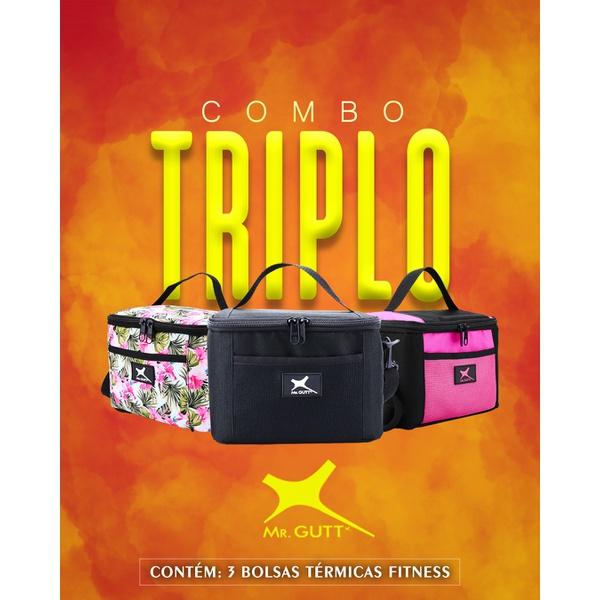 Combo Triplo - Bolsas Fitness Térmicas Mr. Gutt