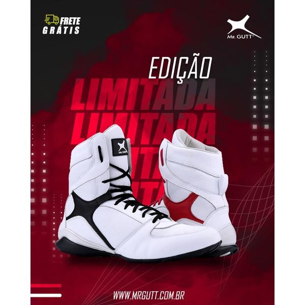 EDIÇÃO LIMITADA - Bota Fitness Personalitte Mg. Gutt - BRANCA