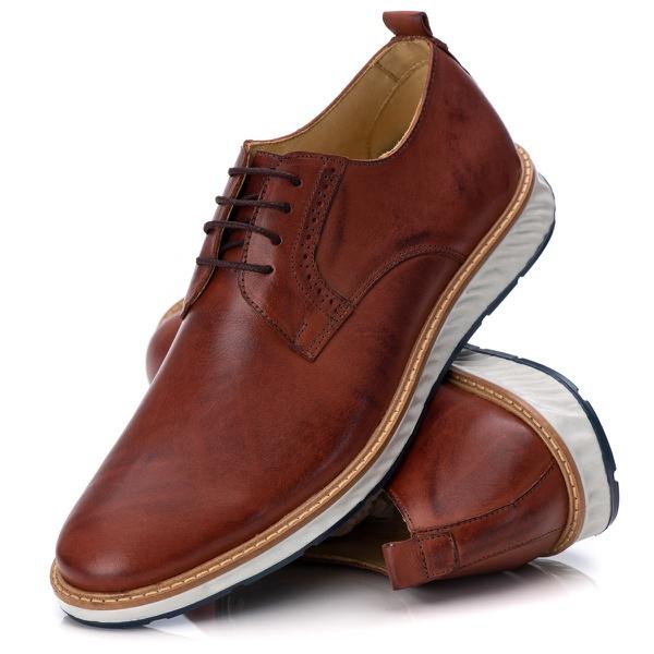 Loafer Elite Couro Premium Havana 9004