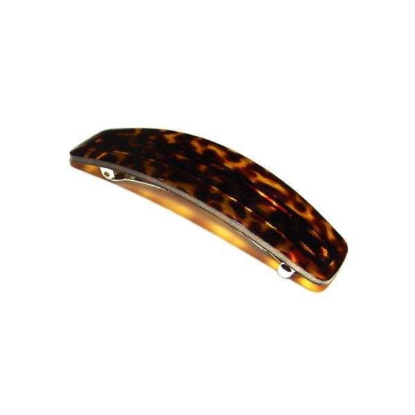 Presilha Clássica 9,0x3,5cm Onça de Acetato Musa Kalliopi
