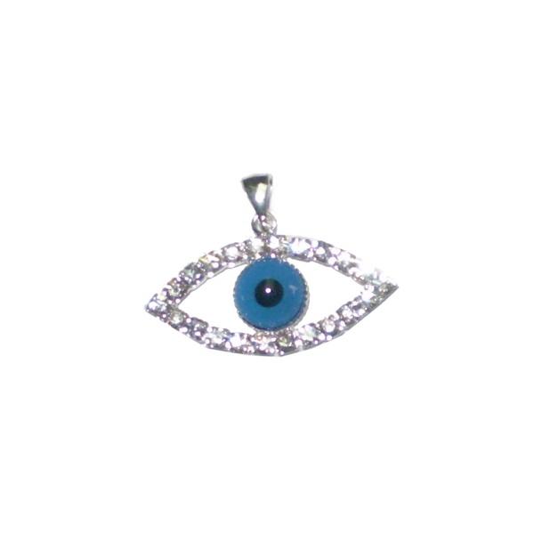 Pingente De Prata Olho Grego Formato de olhos: A Tendência Que Atrai Sorte E Proteção Semi Joias Finas Musa Kalliopi