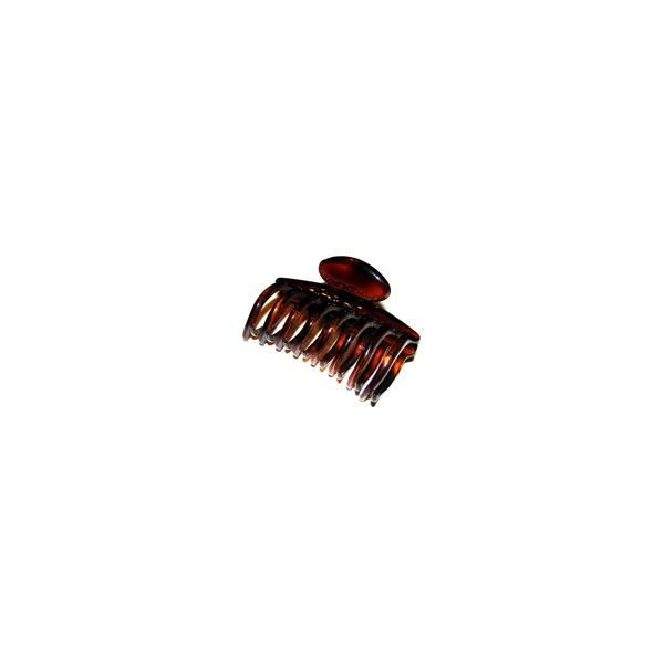 Prendedor Grande 8,0x5,0cm Tartaruga de Acetato Musa Kalliopi
