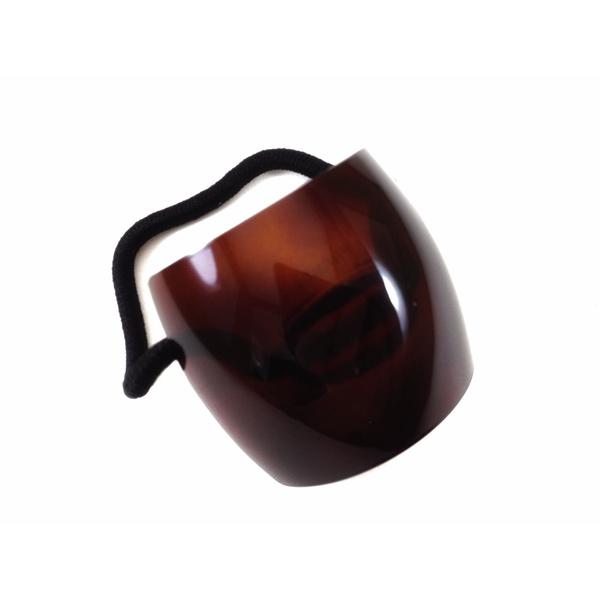 Elástico liso 4,5x4,0cm Tartaruga de Acetato Musa Kalliopi
