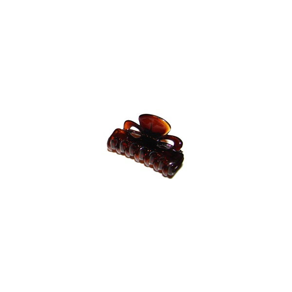 Prendedor mini 4,0x2,5cm tartaruga de Acetato Musa Kalliopi