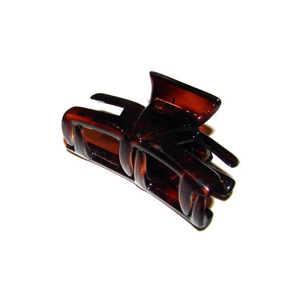 Prendedor Médio 6,0x3,0cm Tartaruga de Acetato Musa Kalliopi
