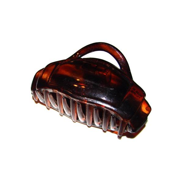 Prendedor Grande 9,0x5,0cm Tartaruga de Acetato Musa Kalliopi