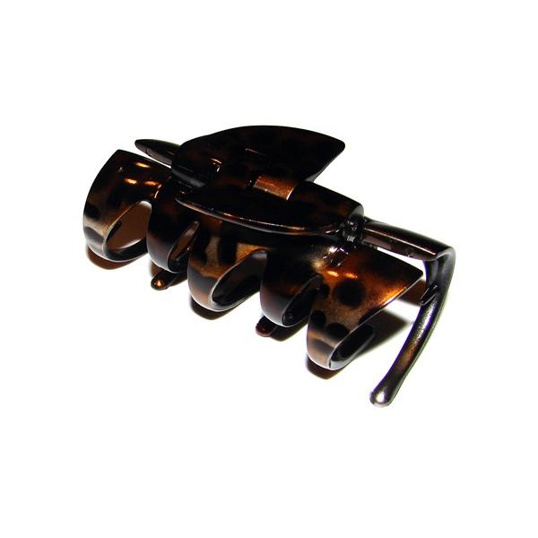 Prendedor Grande 7,5x4,0cm Tartaruga de Acetato Musa Kalliopi
