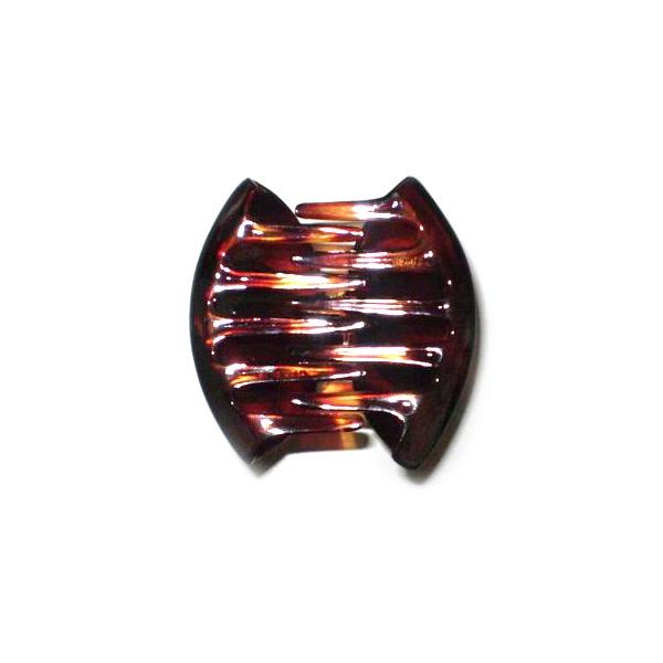 Prendedor Médio 7,0x4,0cm Tartaruga de Acetato Musa Kalliopi