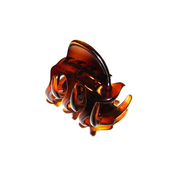 Prendedor Pequeno 5,0x3,0cm Tartaruga de Acetato Musa Kalliopi