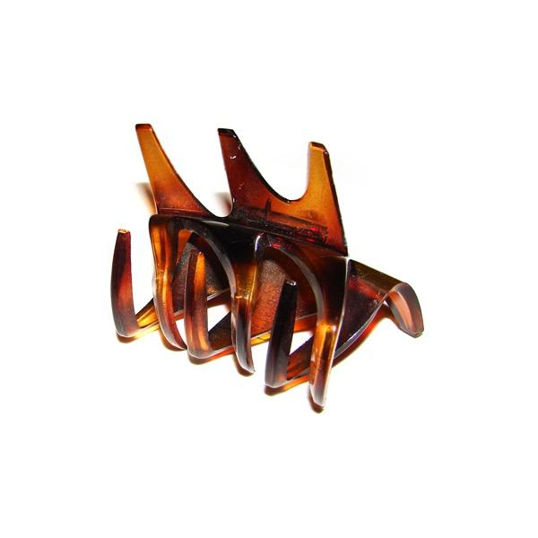 Prendedor Médio 6,0x4,0cm Tartaruga de Acetato Musa Kalliopi