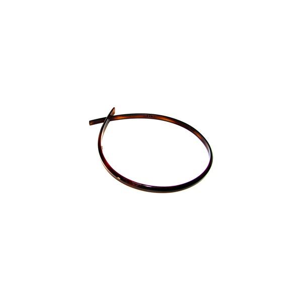 Tiara lisa 0,5cm Lg Tartaruga De Acetato Musa Kalliopi