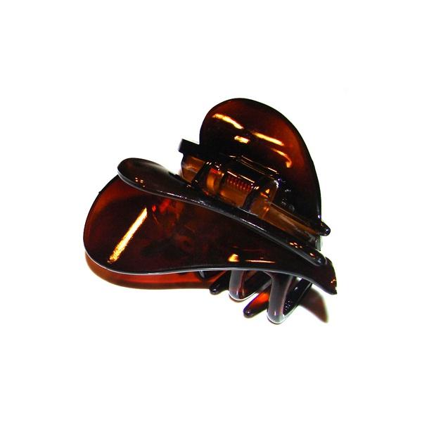 Prendedor Médio 7,0x6,0cm Tartaruga de Acetato Musa Kalliopi