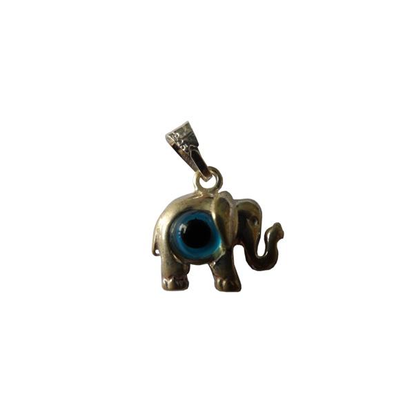 Pingente De Prata Olho Grego Formato De Elefante: A Tendência Que Atrai Sorte E Proteção Semi Joias Finas Musa Kalliopi