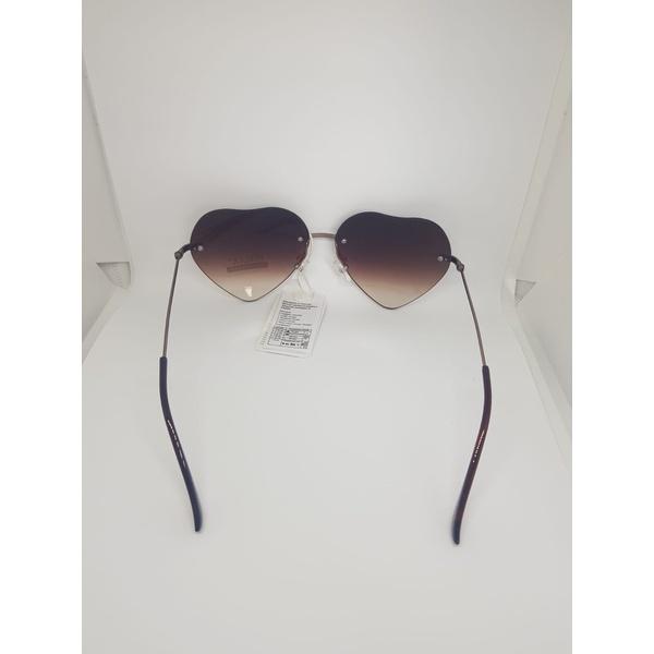 Óculos De Sol Feminino Duas Cores Fashion Musa Kalliopi