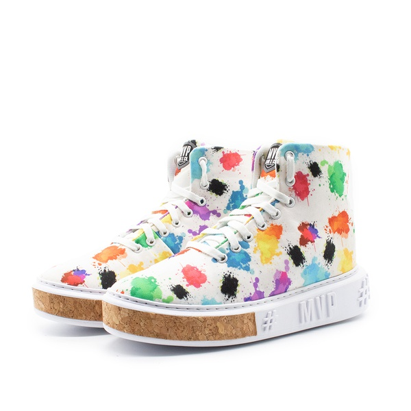 Tênis MVP Fashion Color - Splatter White