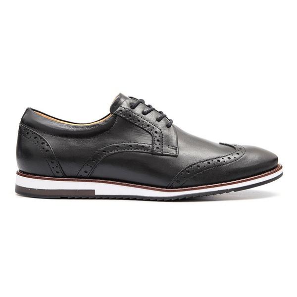 Sapato Oxford Masculino Megane - Preto