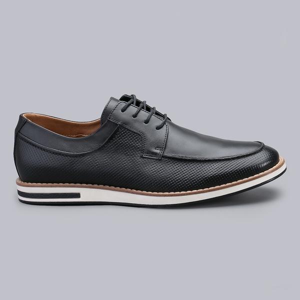 Sapato Casual Masculino Nevano Harry - Preto
