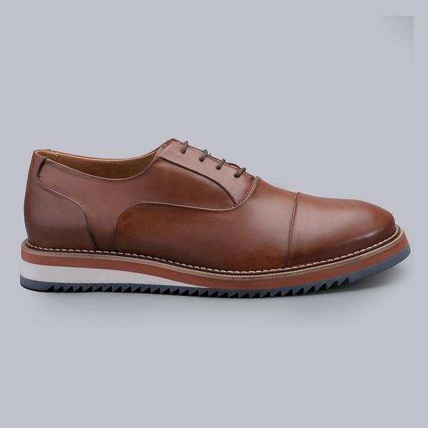 Sapato Casual Masculino Nevano Iggy - Havana
