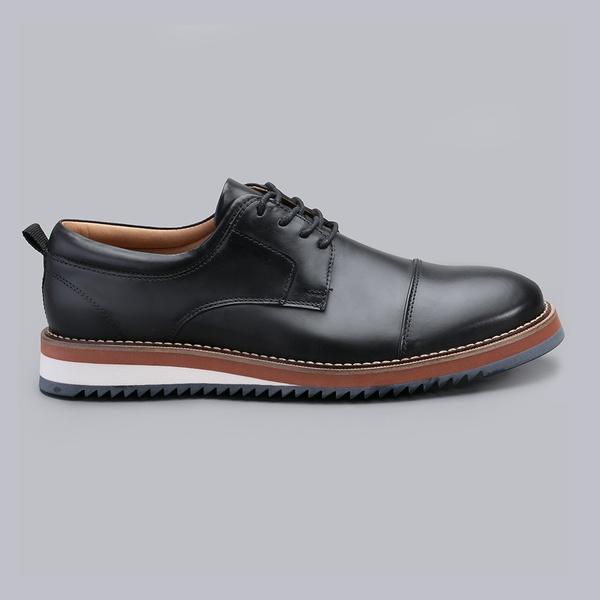 Sapato Casual Masculino Nevano Lyon - Preto