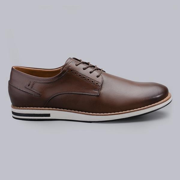Sapato Casual Masculino Nevano Michael - Conhaque