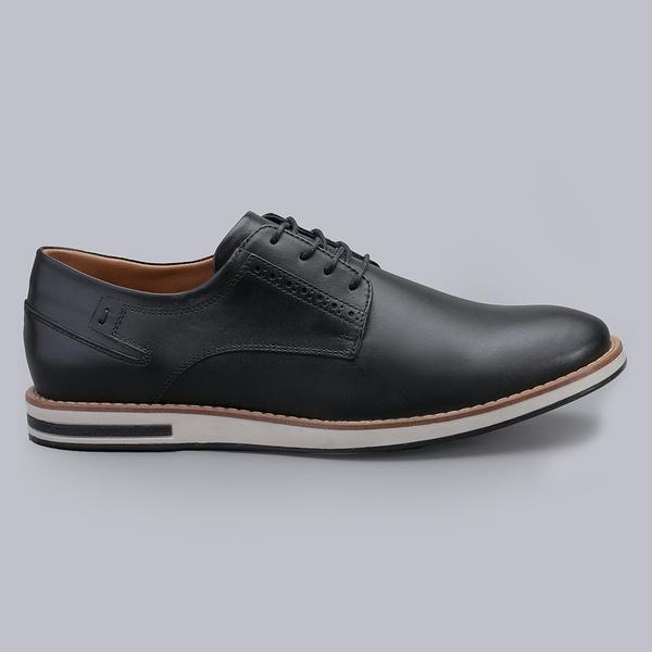 Sapato Casual Masculino Nevano Michael - Preto