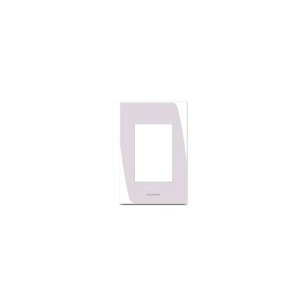 Placa 4x2 3 Modulos Branco - Inova Pro
