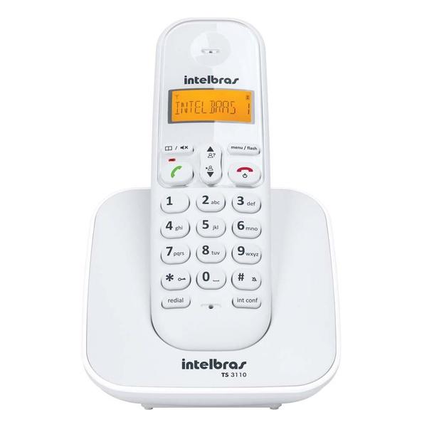Telefone sem fio digital TS3110 - Intelbras