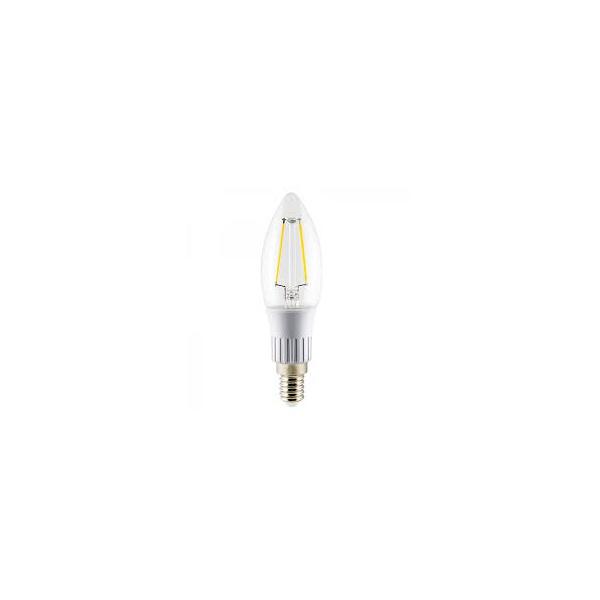 Lâmpada Superled Vela Filamento 3W 2700K E-14 Ourolux