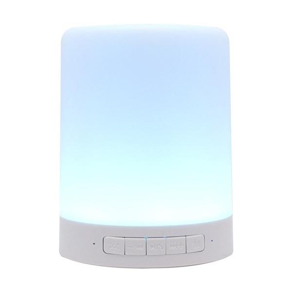 Caixa de Som & luminária RGB 3W
